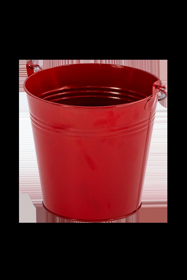 דלי פח – אדום