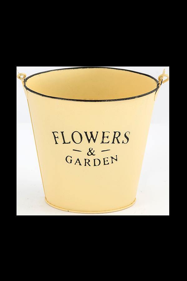 דלי פח FLOWRRS – שמנת