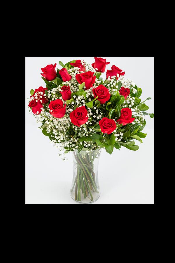 זר ורדים קלאסי